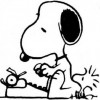 Snoopy, the frustrated writer