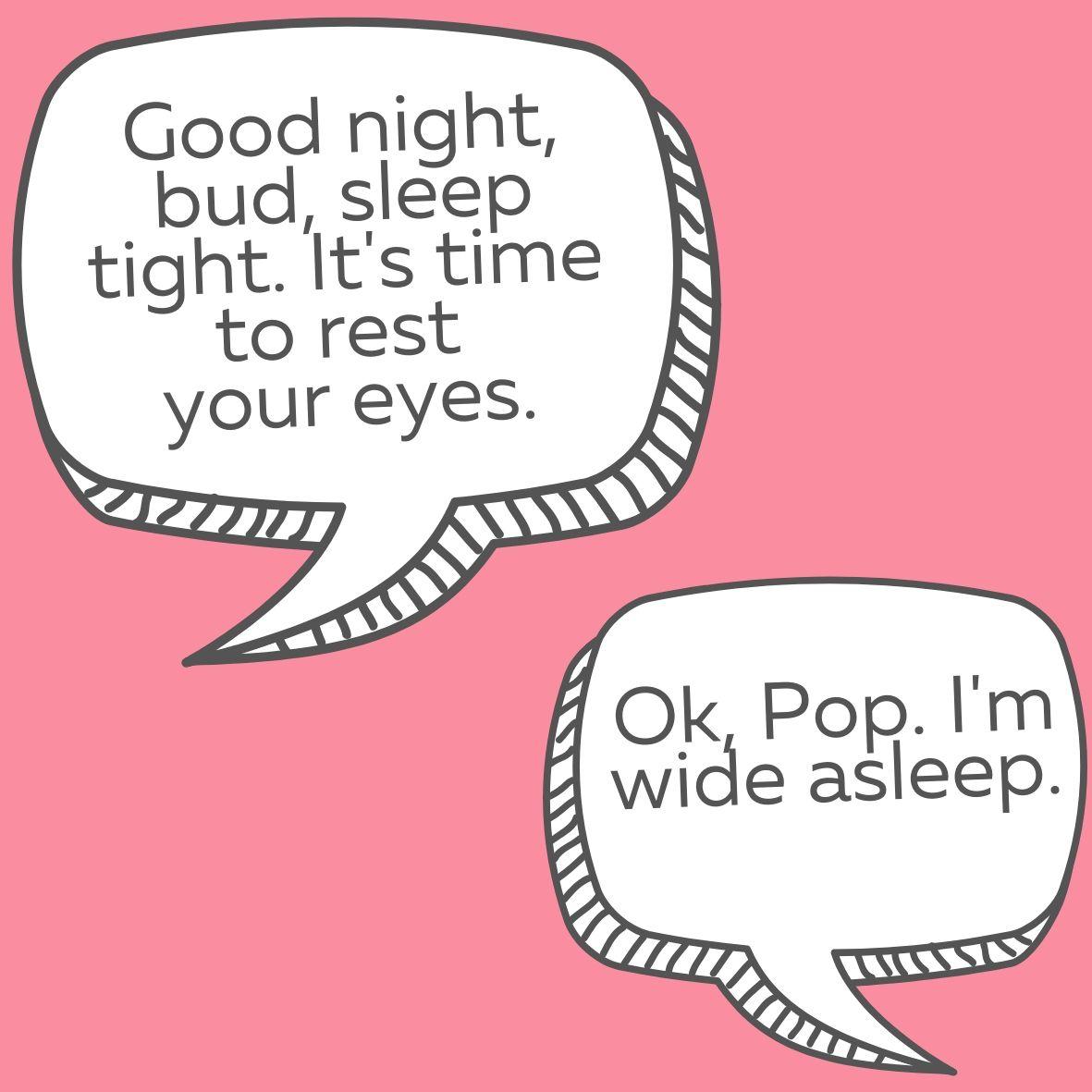 Wide Asleep