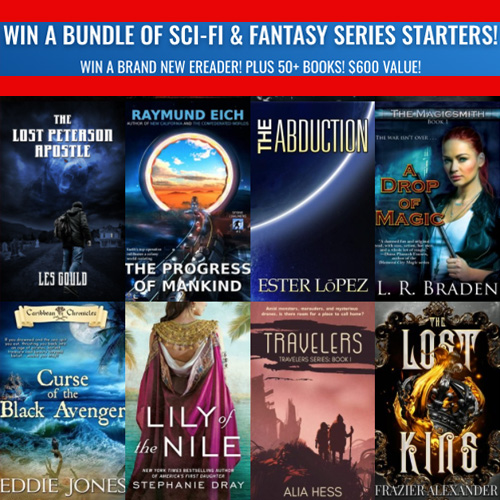 WIN A BRAND NEW EREADER! PLUS 50+ BOOKS! $600 VALUE!