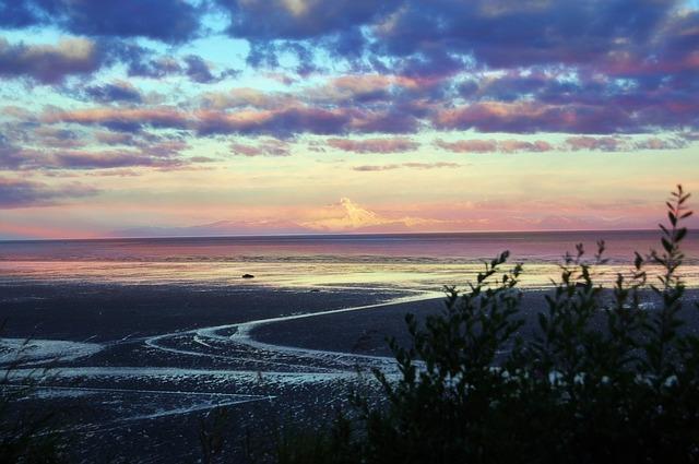 Surf river mouths along the Kenai Peninsula.